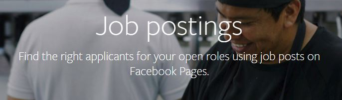 facebook job postings